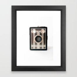 Vintage Camera No 5 Framed Art Print