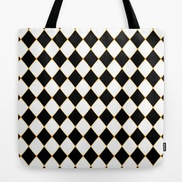 Chess board with golden threads Tote Bag