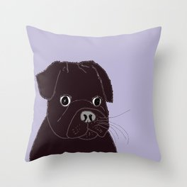 Somedays he's sweeter than others.  Throw Pillow