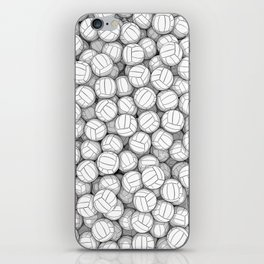 All I Want To Do Is Volleyball iPhone Skin