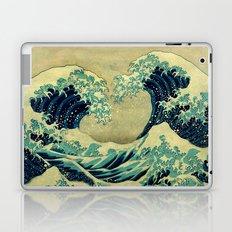 The Great Blue Embrace at Yama Laptop & iPad Skin