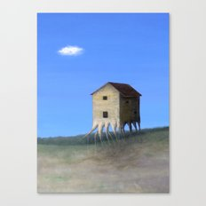 House Roots Canvas Print