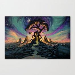 The Taurean Tree Canvas Print