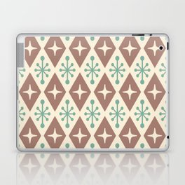 Mid Century Modern Atomic Triangle Pattern 101 Laptop & iPad Skin