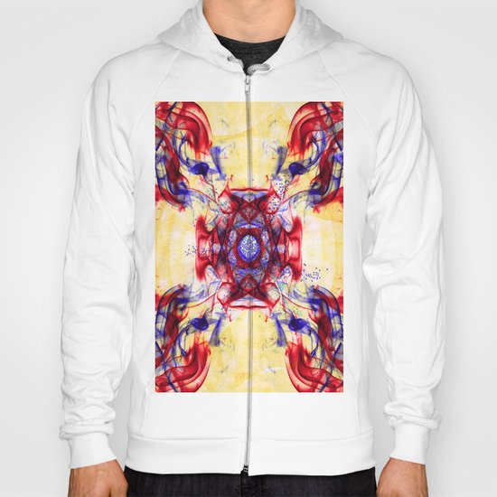 Smoke Art Abstract Hoody