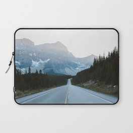 Icefields Parkway Sunset Laptop Sleeve
