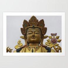 Buddha Park Art Print