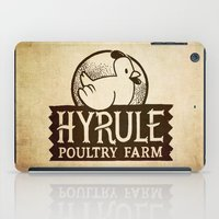 hyrule iPad Cases featuring Hyrule Poultry Farms by Drake Sauer