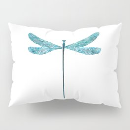 Dragonfly, watercolor Pillow Sham
