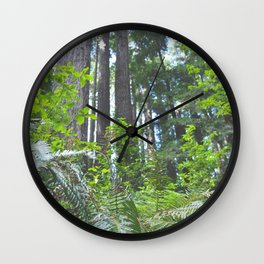 Forest Wonderland Wall Clock