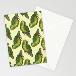 parrot bird pattern Stationery Cards
