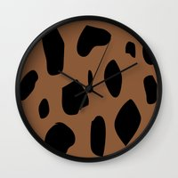 jaguar Wall Clocks featuring Jaguar by PAAC design