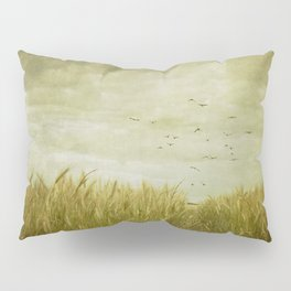 Vintage Wheat Field Pillow Sham