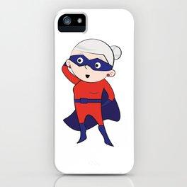 Super grandma iPhone Case