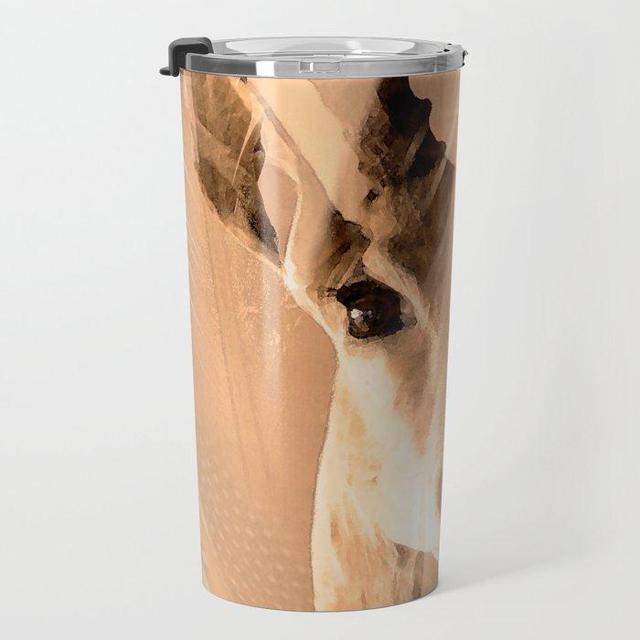 Beautiful and fast - Impala portrait Travel Mug