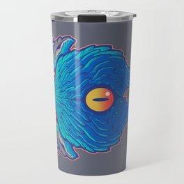 blue foo sign Travel Mug