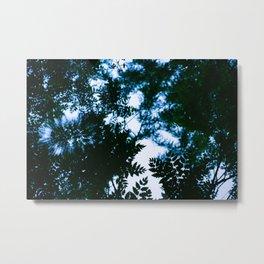 blue rippling water Metal Print