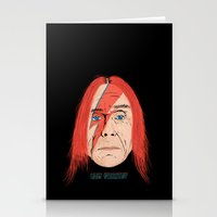 iggy Stationery Cards featuring Iggy Stardust by Chris Piascik