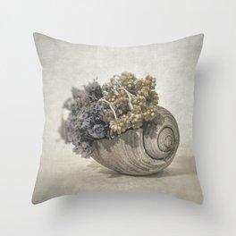Seashell No.2 Throw Pillow
