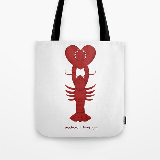 Loving Lobster Tote Bag
