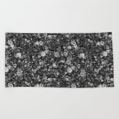 Baroque Macabre II Beach Towel