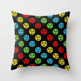 45 Spindle All Over Print Throw Pillow