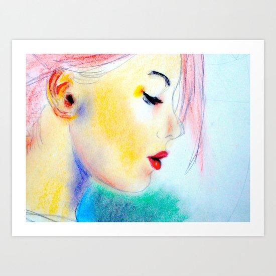 draft Art Print