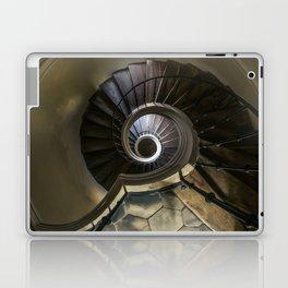 Circles and spirals Laptop & iPad Skin
