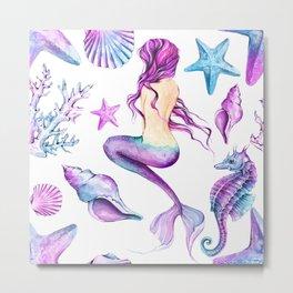 mermaid beauty Metal Print