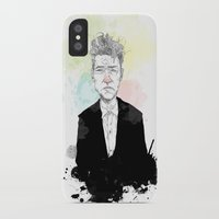 lynch iPhone & iPod Cases featuring David Lynch by suPmön
