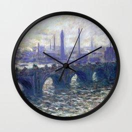 Monet Bridge Wall Clock