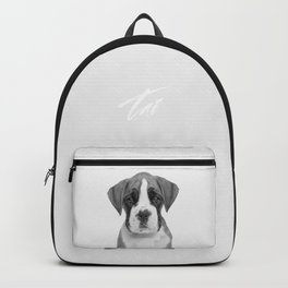 German Boxer Puppy Backpack