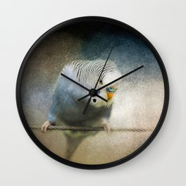 The Budgie Collection - Budgie 3 Wall Clock