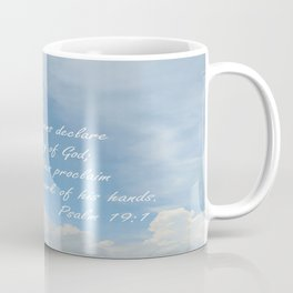 The Heavens Declare Coffee Mug
