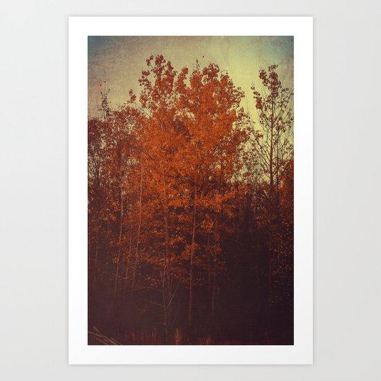 Days Undone Art Print