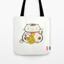 Maneki Neko [Special Lucky Toy Box] Tote Bag