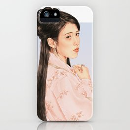 in bloom [iu lee jieun] iPhone Case