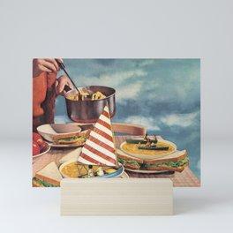 Sunday lunch Mini Art Print