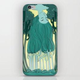 Tree Head iPhone Skin