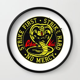 Cobra Kai Wall Clock