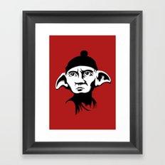 A Free Elf Framed Art Print