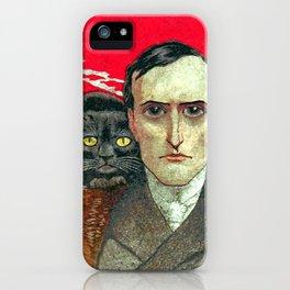 Cat man iPhone Case