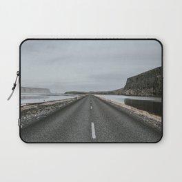 Empty Road - A Love Story Laptop Sleeve