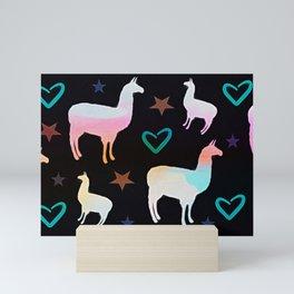 Llama Pop Mini Art Print