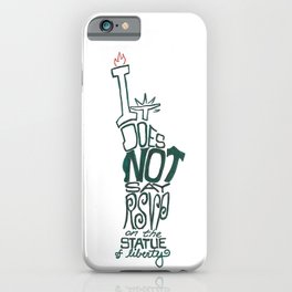 Don't Be Clueless iPhone Case