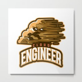 Cloud Engineer Metal Print