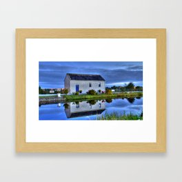 Ticket House on The Royal Canal Framed Art Print