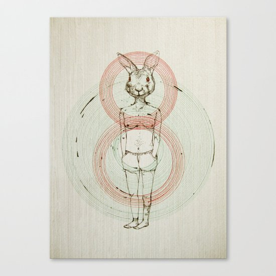 my bunny Canvas Print