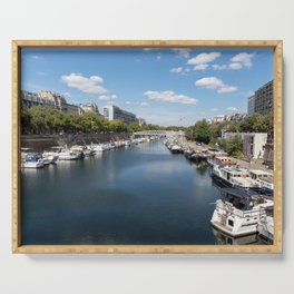 Canal Saint Martin - Paris Serving Tray