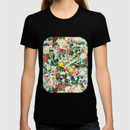 Floral and Birds III T-shirt